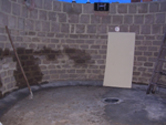 Kidney shaped pond fibreglassed by GRP photo 2