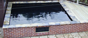 Koi pond fibreglassed by GRP in scunthorpe